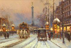 Yuri Kuzmin /Юрий Кузьмин, 1949 | Paris Belle Époque painter | Tutt'Art@ | Pittura * Scultura * Poesia * Musica |