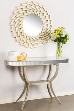 Roi Oval Console Table by Statements by J on @HauteLook