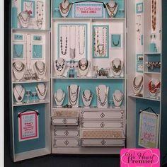 New jewelry line from Premier Designs! Premier Jewelry, Premier Designs Jewelry, Jewelry Design, Craft Booth Displays, Display Ideas, Store Displays, Booth Ideas, Paparazzi Jewelry Displays, Paparazzi Display