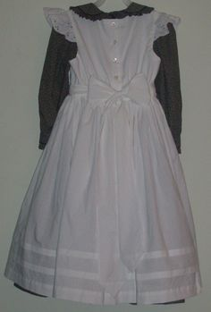 costumes for helen keller | Helen Keller Dress and Pinafore