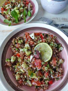 kiwi-forme.net Taboulé de quinoa rouge