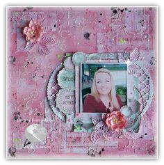 Magic Craft Land by Henryka Magic Crafts, Happy Moments, Mixed Media, It Is Finished, Diy Projects, Layout, Earth, In This Moment, Frame