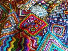 Love these granny squares!