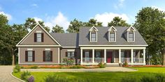 Appealing 3 Bed Country House Plan - 36060DK | 1st Floor Master Suite, Bonus Room, Butler Walk-in Pantry, CAD Available, Corner Lot, Country, Jack & Jill Bath, PDF, Split Bedrooms, Traditional | Architectural Designs