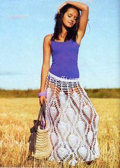 Vitalina Dreams: Пляжные юбки крючком