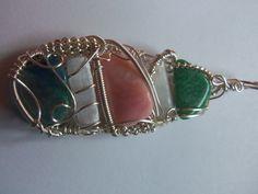 Amazonite / Selenite / Pink Opal / Selenite / Chrysocolla Pink Opal, Cuff Bracelets, Jewelry, Fashion, Moda, Jewlery, Jewerly, Fashion Styles, Schmuck