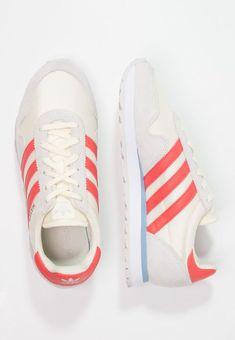 adidas Originals HAVEN - Sneaker low - cream white/trace scarlet/grey one  für