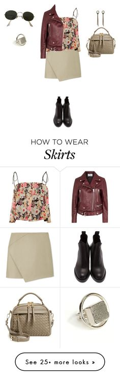 """Untitled #784"" by elenekhurtsilava on Polyvore featuring Carven, Elizabeth and James, Sole Society, Lanvin, Anndra Neen, Ray-Ban, Acne Studios and strawbags"