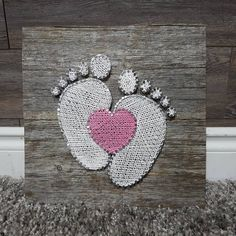 (notitle) The post (notitle) & Basteln appeared first on Rustic nursery ideas . String Wall Art, Nail String Art, String Crafts, Paper Crafts, String Art Templates, String Art Patterns, Doily Patterns, Dress Patterns, Disney Diy