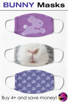 Cute face masks for Covid19  by Scar Design.  Stay Safe in Style   with Cool Cloth Masks. Buy yours at my #redbubble store only $12.68 each! $10.14 when you buy 4+ #bunny #rabbit #cute #kids #family #bunnies #rabbits  #covid19  #facemask #clothfacemask  #style #mask #facemasks #clothmask  #coronavirus #virusmask  #findyourthing Cool Tee Shirts, Cool Tees, Cute Bunny, Bunny Rabbit, All Things Cute, Cute Faces, Stay Safe, Family Gifts, Xmas Gifts
