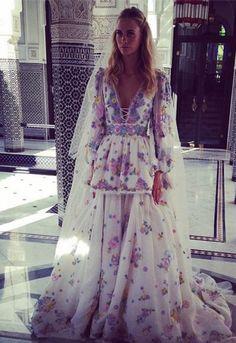 Poppy Delevingne trekt naar Marrakesh voor tweede bruiloft
