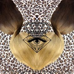 """This is a quadruple wefted 30"""" 6 piece full head set in a light brown to light golden blonde available at www.intenseextensions.com"""