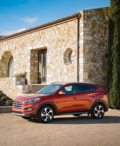 The 2017 Hyundai #Tucson is an SUV that complements its surroundings.