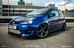 Ford Fiesta mk6 ST Imperial blue