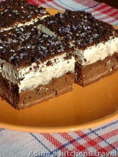 Sweets Recipes, No Bake Desserts, Cake Recipes, Chocolat Recipe, Romanian Desserts, Banana Bread Recipes, Ice Cream Recipes, Desert Recipes, Cakes And More