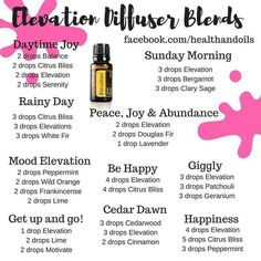 Elevation Diffuser Blends