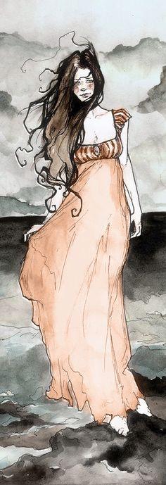 Annabel Lee by Abigail Larson (detail)