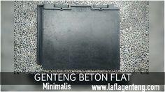 GENTENG BETON FLAT MINIMALIS : Ber sertifikat SNI product berkualitas - Dengan dimensi 42 cm X 32 m jarak reng 26 cm : kebutuhan 1m2: 10 ...