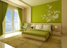 Image result for interior design fern wall stickers