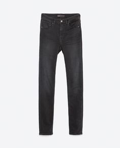 Image 6 of HIGH-WAIST JEANS from Zara