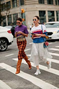 On the street at #NY
