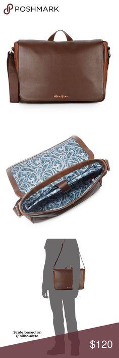 🆕NWT Robert Graham Messenger Bag 🔹Robert Graham Mulberry leather messenger bag.🔹NWT & dust bag.🔹Reasonable offers welcome! Robert Graham Bags Messenger Bags