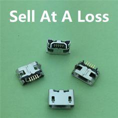 10 sztuk/partia Micro USB 5pin Długi Pin Złącze Jack Gniazdo Żeńskie G28 OX Horn Gładkie Usta dla Tail Ładowania Mobilna telefon