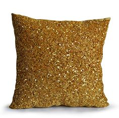 Amore Beaute Handcrafted Gold Pillow Cover -Holiday Decor Gold Throw Pillow for Chic Metallic Bling Gold Accent Pillow Gold Sequins Beads Luxury Cushion for Christmas Gold Accent Pillows, Gold Throw Pillows, Gold Cushions, Decorative Throw Pillows, Home Design, Gold Couch, Dorm Pillows, Gold Home Accessories, Gold Sequins