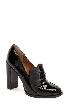 Calvin Klein 'Kathryn' Pump (Women) Would be great with pants Oxfords, High Heel Loafers, High Heel Boots, Shoe Boots, Fancy Shoes, Crazy Shoes, Cute Shoes, Me Too Shoes, Looks Chic