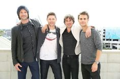 The brothers of Supernatural and The Vampire Diaries #SDCC