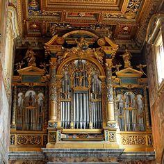 Pipe organ San Giovanni in Laterano 2006-09-07 - Lateran – Wikipedia – Marie-Lan Nguyen
