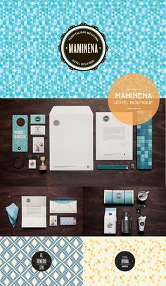 MAMINENA Hotel Boutique #identity #packaging #branding PD
