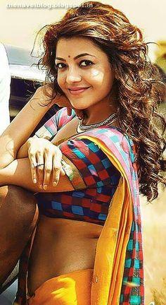 Kajal agarwal hot hip show Beautiful Bollywood Actress, Most Beautiful Indian Actress, Beautiful Actresses, Beautiful Celebrities, Beautiful People, Hot Actresses, Indian Actresses, Kajal Agarwal Saree, Dehati Girl Photo