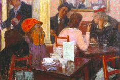 Edward Le Bas (1904–1966) – Café Scene (1939) Collection Tate © Tate