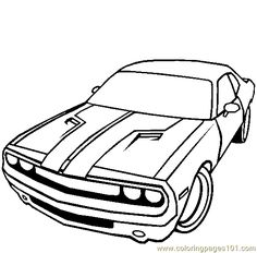 31 best automobiles images in 2019 1954 Chevy Rat Rod Car dodge challenger coloring page cars coloring pages online coloring pages coloring for kids