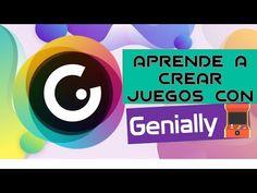 Genially juegos TUTORIAL 2020 (profesores) ¿Cómo hacer JUEGOS virtuales? - YouTube