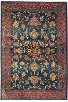 Enchantment Area Rug - Synthetic Rugs - Traditional Rugs - Rugs | HomeDecorators.com
