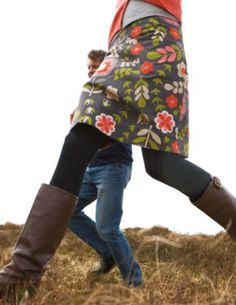 From Boden... Love the skirt, love the leggings, love this boots