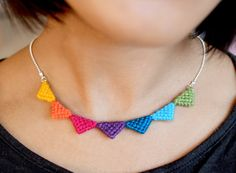 Tribal Triangle Necklace