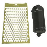 Acupressure Mat in Green Bed of Nails is the BEST acupressure mat on the market!