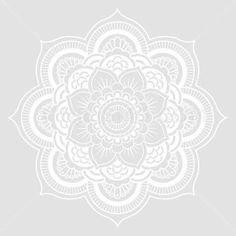 Resultado de imagen para mandala white