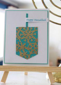 Handmade Hanukkah Cards / Holiday Decor Celebrations | Fiskars