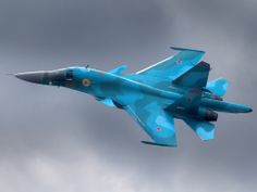 Aircraft Sukhoi SU-34 Russian Air Force (Russia)