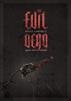 The Evil Dead Anniversary by Daniel Eek, via Behance