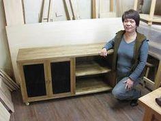2009年11月13日 みんなの作品【キャビネット】|大阪の木工教室arbre(アルブル)
