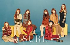 Lovelyz Cast Aside Their Cute Image in Recent Pictorial