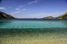 Ithaca island, Aetos beach, Ionian Sea, Greece