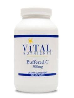 Vital-Nutrients-Buffered-C-500-mg-220-caps-VNCBUF-Clearance-Exp-8-17-IHI