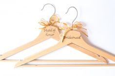 Kleiderbügel Bridesmaid/Maid of Honor Maid Of Honor, Clothes Hanger, Bridesmaid, Dama De Honor, Dama De Honor, Hangers, Bridesmaid Tops, Hanger Hooks, Coat Stands