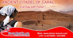 Experience Ancient Citadel of Caral and witness a cradle of civilization in Peru.